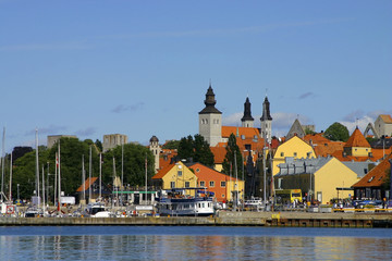 view from visby