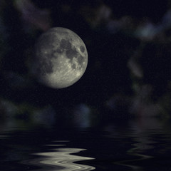 earths reflection