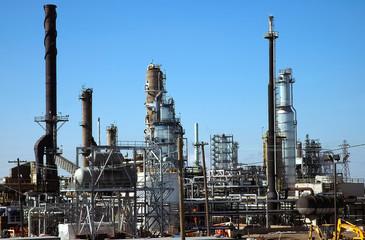 gas & oil refinery