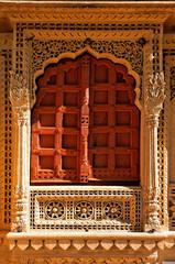 Keuken foto achterwand India india, rajasthan, jaisalmer: jain temple