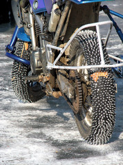 motorcycle for ice