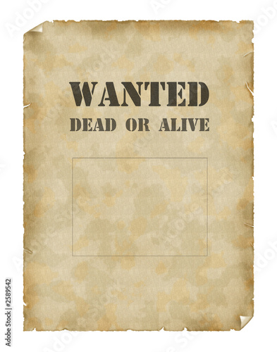 Wanted dead or alive poster template - irosh.info