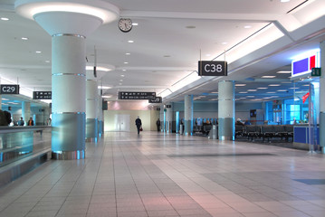 Papiers peints Aeroport airport interior