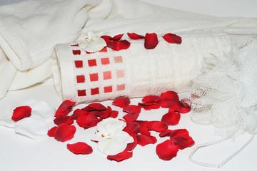 bain à la rose