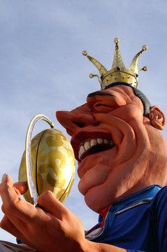 carnaval de nice le roi
