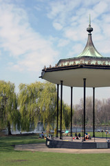 regent's park band stand