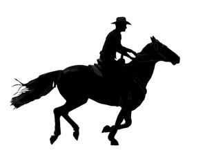 cantering cowboy