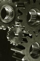 gear mechanism in bronze toning