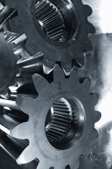 large gear machinery in duplex toning