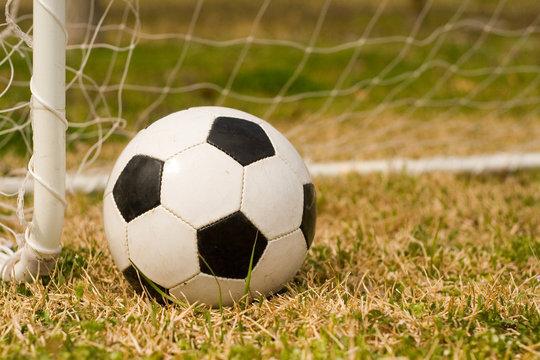 soccer ball & goal