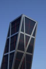 kio towers in madrid, spain