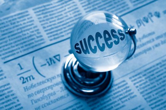 globe and formula of succes