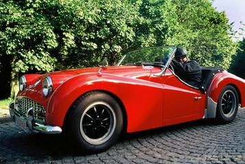 Foto op Plexiglas Oude auto s retro car