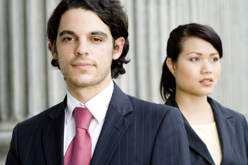 young business people