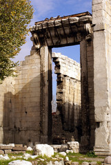 gate of the roman temple