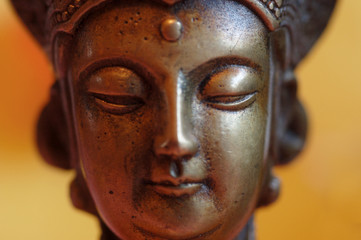 Foto op Canvas Boeddha bhudda statue