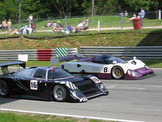 Tuinposter Snelle auto s race cars