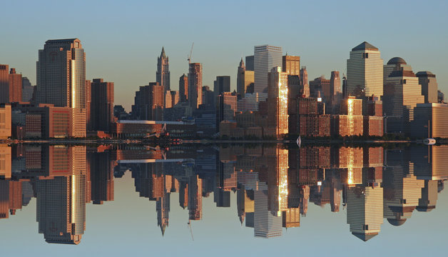 lower manhattan panoramic