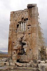 wall in pasargadae