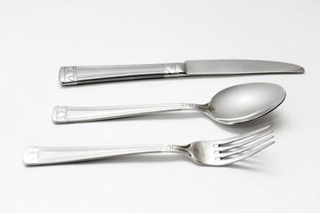 knife, spoon, fork