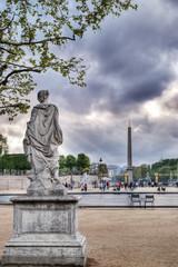 view of concord squar from tuileries, paris, franc