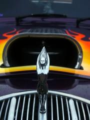 Fototapete - Hotrod Hood Ornament