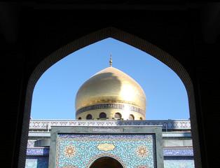 moschea di zainab con cornice