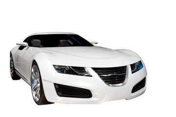 Deurstickers Snelle auto s luxury sports car