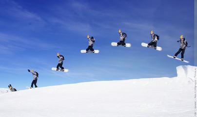 jump snowboard