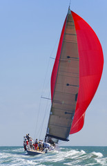 Photo sur Plexiglas Voile full sail power