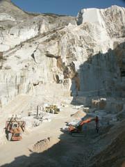 Photo sur Aluminium cava di marmo
