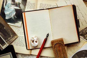 vintage note-book