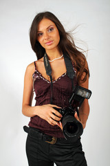 girl - photographer