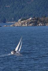 sailing in horseshoe bay