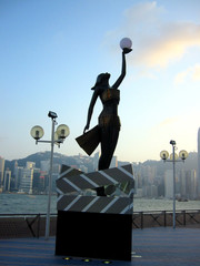 avenue of stars, tsim sha tsui, hong kong