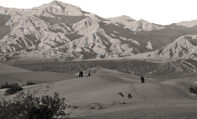 photographers capturing images of the dunes at death valley nati