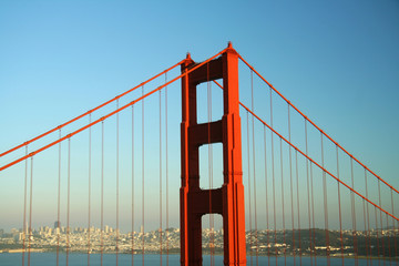 Golden Gate Bridge and the City