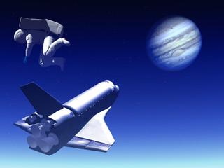 shuttle in the sky 45