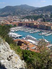 marina/port of nice, cote d'azur