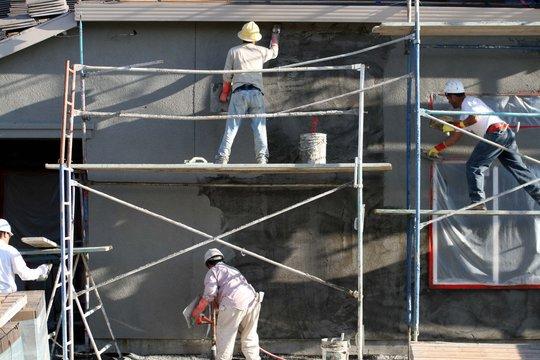 plastering,stucco