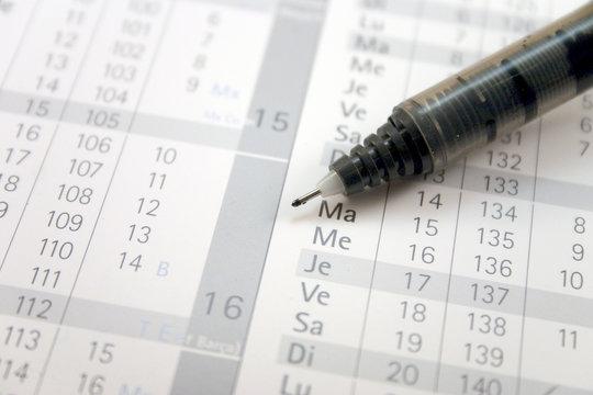 calendrier 2007