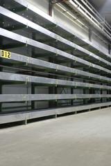 verlassenen lagerhalle
