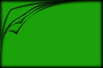 multi corner green
