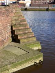 einfahrt altes dock
