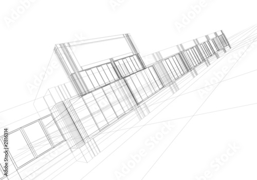 Wireframe Abstract Stock Photo And Royalty Free Images On Fotolia