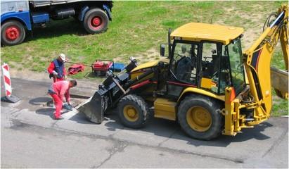 road renovation
