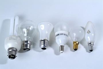 divers ampoules electrique