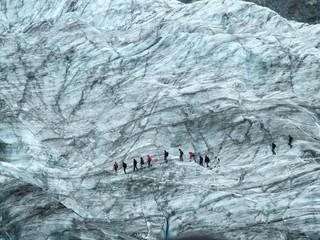 Tuinposter Gletsjers glacier walk