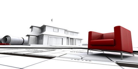sofa and house 2