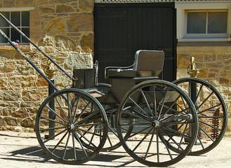 Photo sur Aluminium old style buggy.